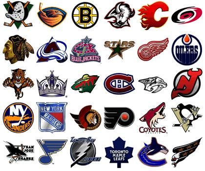 Hockey teams logos nhl